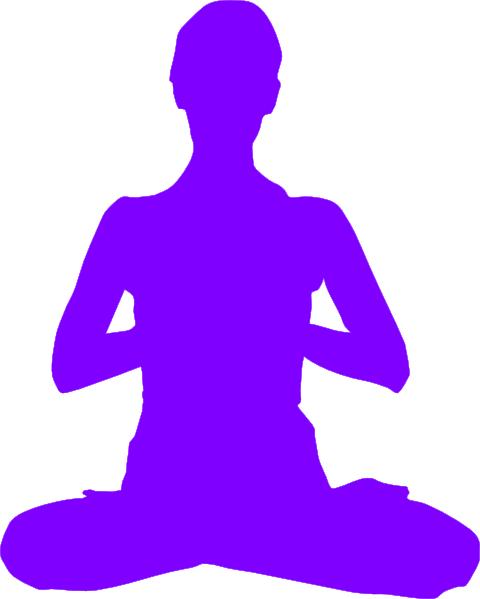 vector royalty free library Meditation Clip Art at Clker