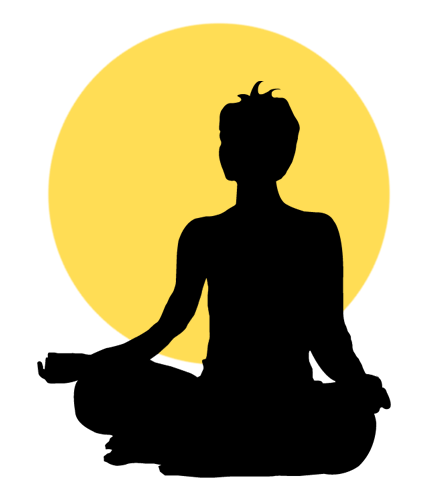 clipart free library Viraj yoga classes when. Meditation clipart yogasana