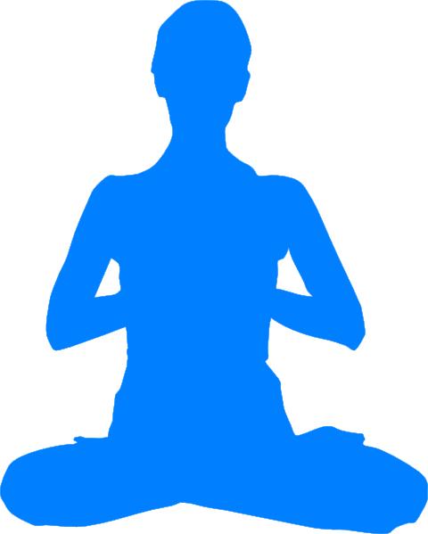 graphic Meditation clipart zen