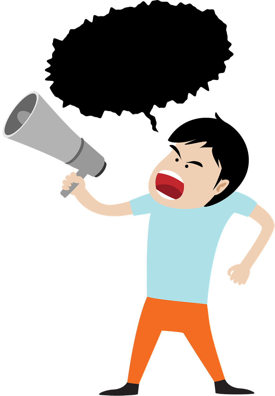 clip Megaphone clipart voice projection. Vocal a tip from.
