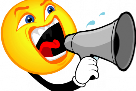 library Megaphone clipart voice projection. Noise talking free on.