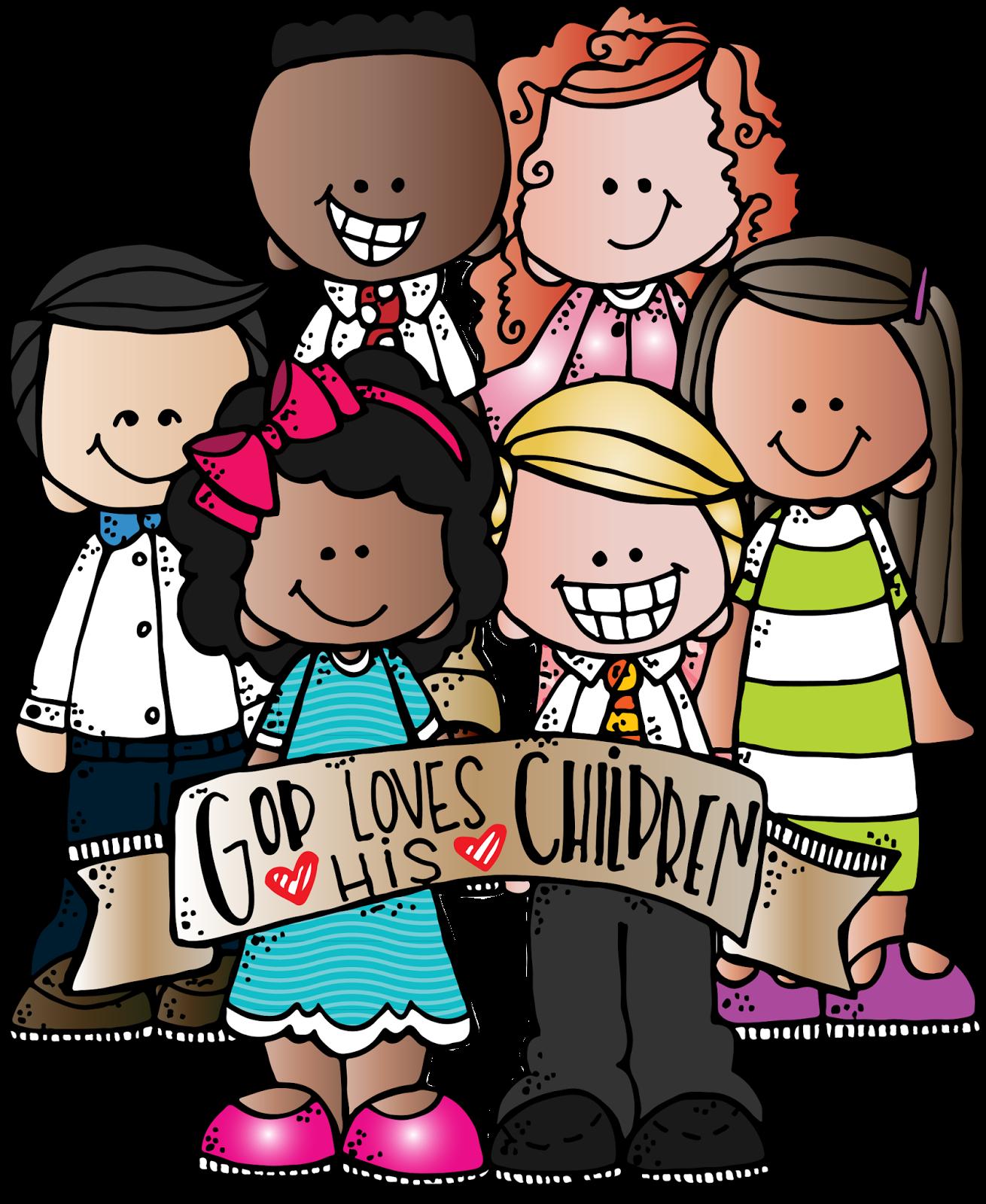 banner freeuse download Melonheadz clipart group. Lds illustrating dibujos preciosos.