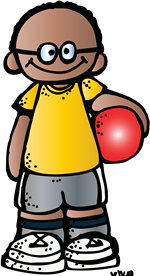 royalty free Kindergarten special area schedule. Melonheadz clipart gym.