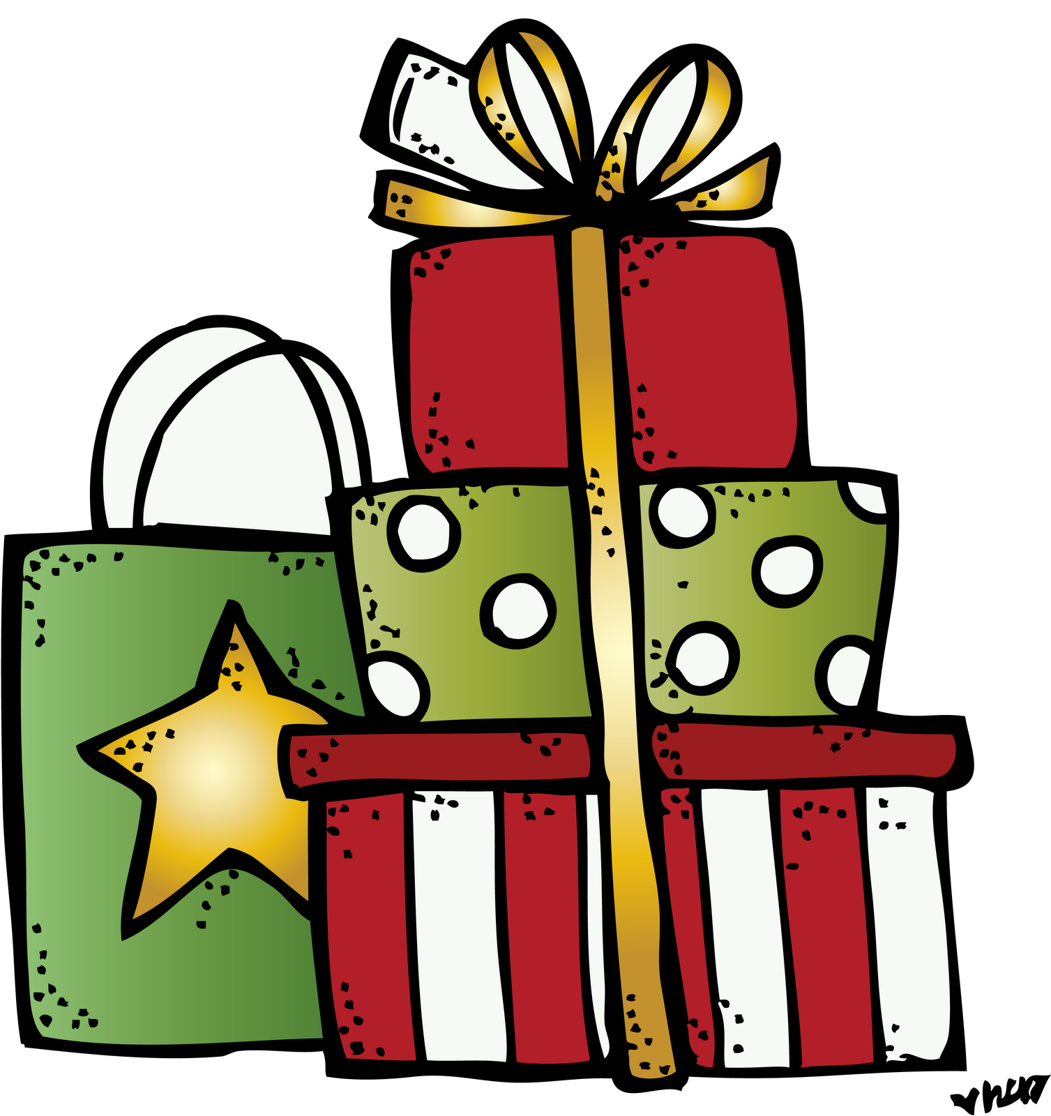 svg royalty free stock Image result for presents. Melonheadz clipart present.