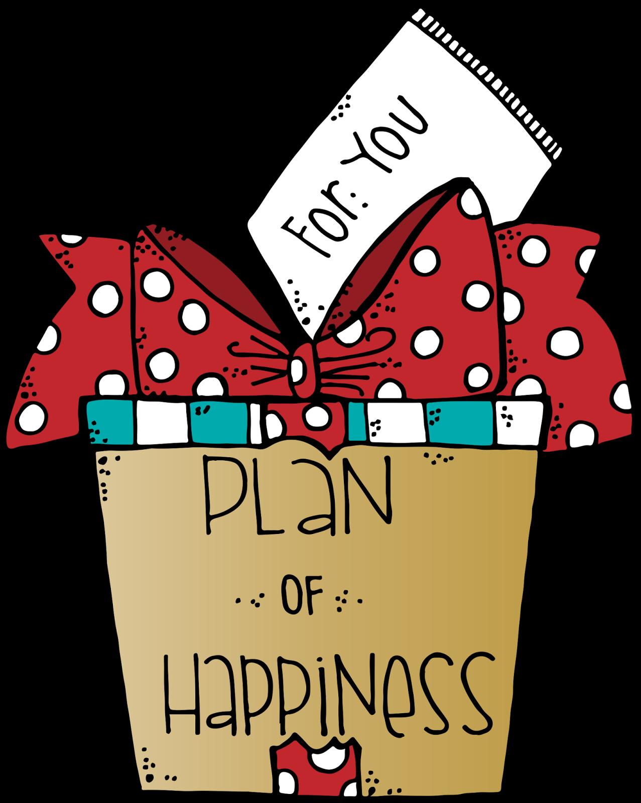 jpg transparent library Melonheadz clipart present. Plan od happiness mhldsf.