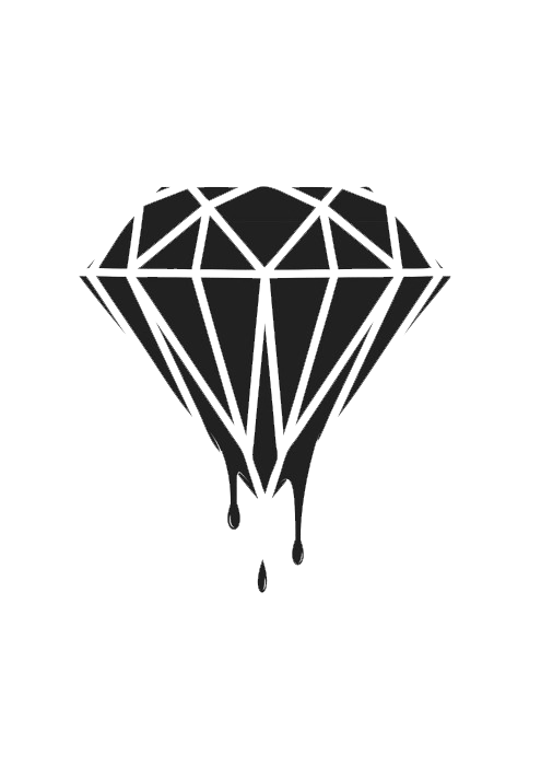 image free stock melting drawing diamond #99658266