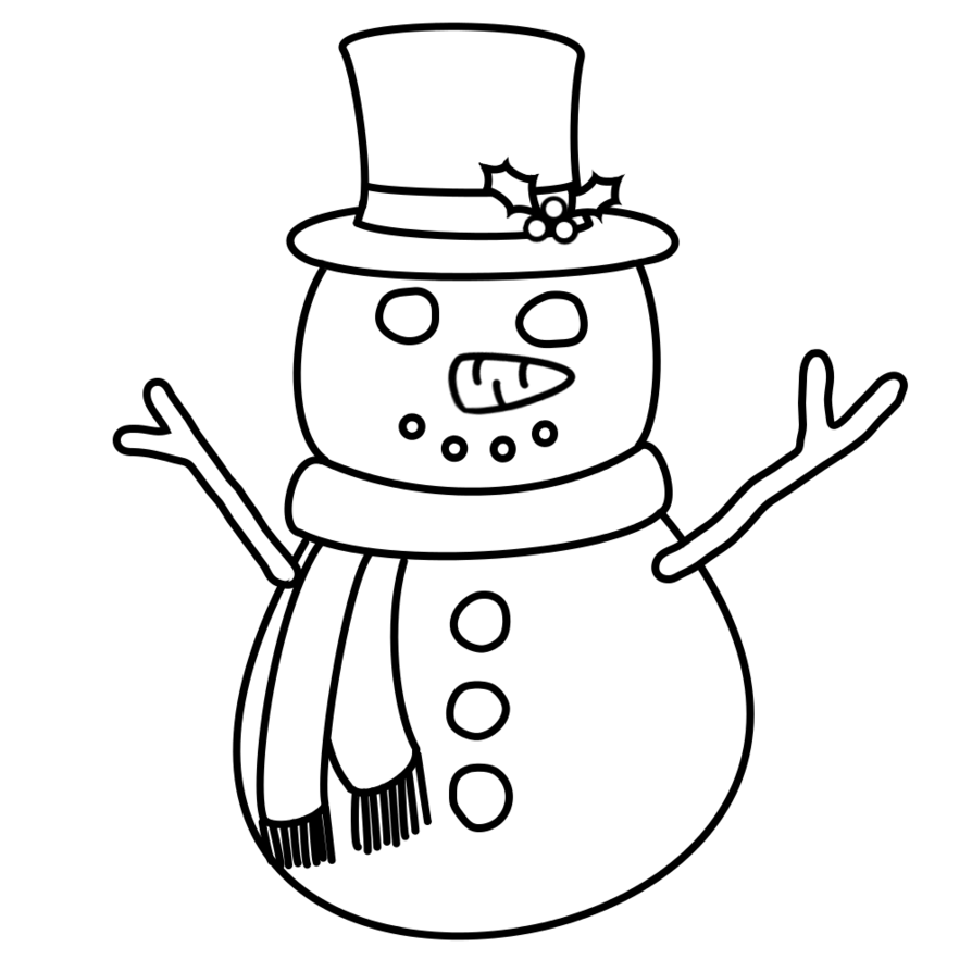 clip art library Collection of free Snowman drawing angry