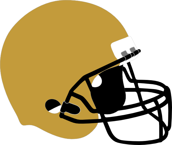 clipart black and white stock Memorial clipart helmet. Silver football free on.