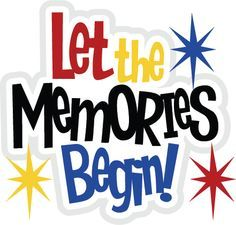 clip transparent library Memories clipart.  best remember when.