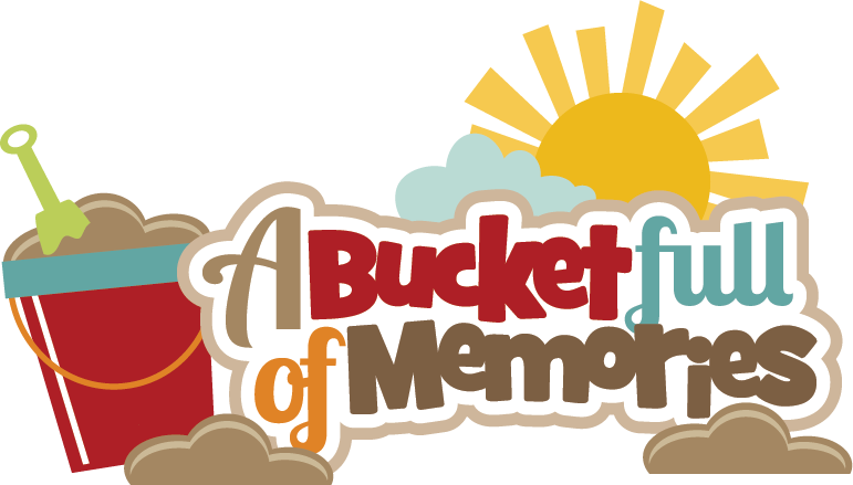 clip free stock Memories clipart. A bucket full of.