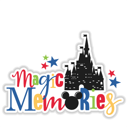 clip royalty free Magic title svg scrapbook. Memories clipart.