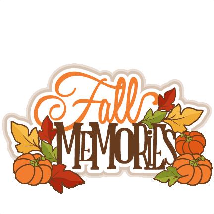 svg free Scrapbooking fall svg files. Memories clipart