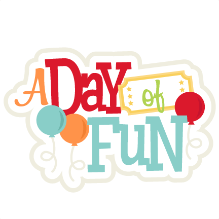 image transparent A Day of Fun SVG scrapbook title amusement park svg cut file cute