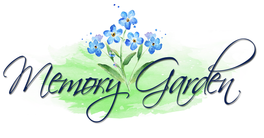 svg freeuse Memory clipart memorial. Garden sympathy and gifts.