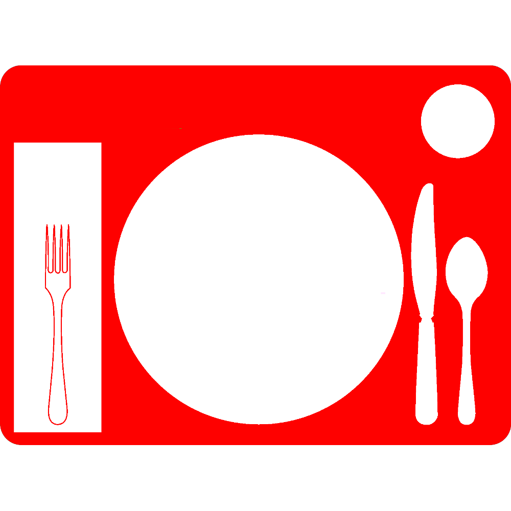 image freeuse stock Memory clipart unforgettable. Non slip table setting.