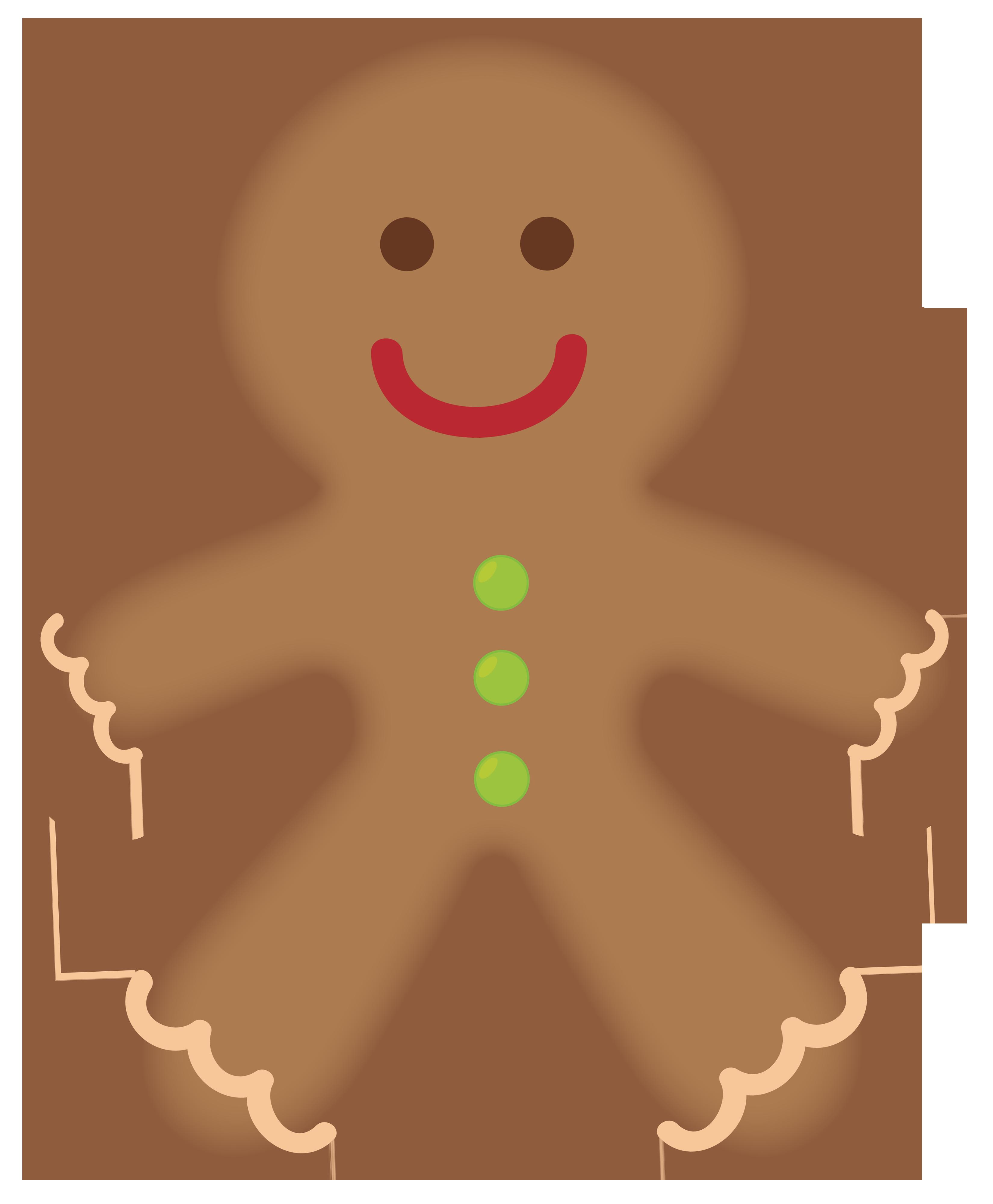 clip art library Men clipart. Gingerbread man web clipartix.