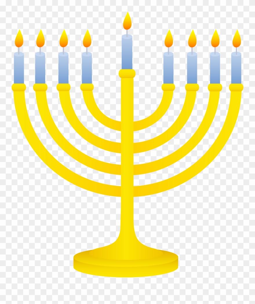 graphic royalty free stock Menorah clipart. Jewish symbols clip art