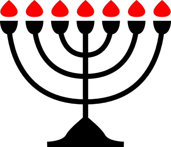 clip art royalty free stock Menorah Clip Art at Clker