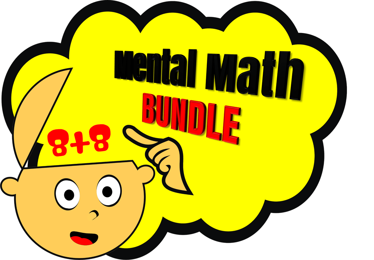 vector black and white Mental clipart. Mentally focus on math.