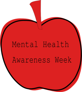 banner black and white download Health awareness week clip. Mental clipart