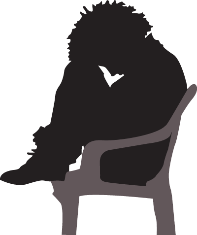 transparent Mental clipart silhouette. Depressed at getdrawings com