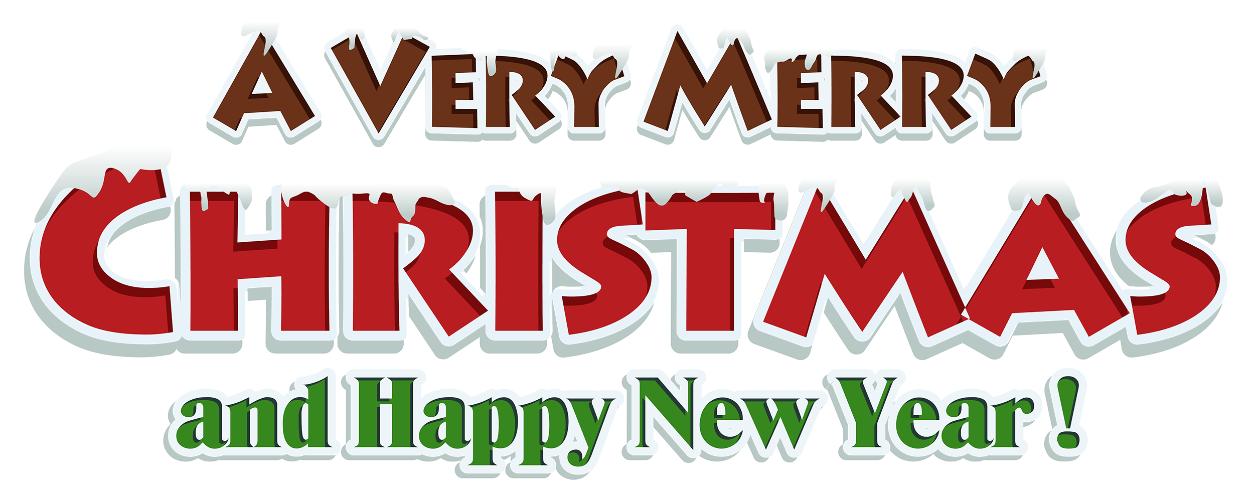 clip art black and white library Merry christmas red text. Free clipart happy friday