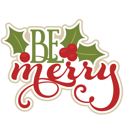 clip art black and white stock Christmas title free on. Merry clipart.