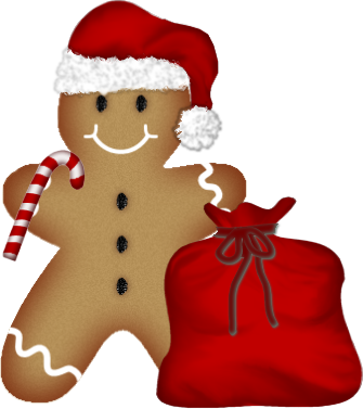 image black and white stock Tubes noel cannes pains. Merry clipart gingerbread