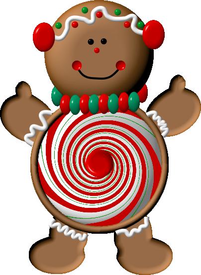 png transparent Christmas man clip art. Merry clipart gingerbread
