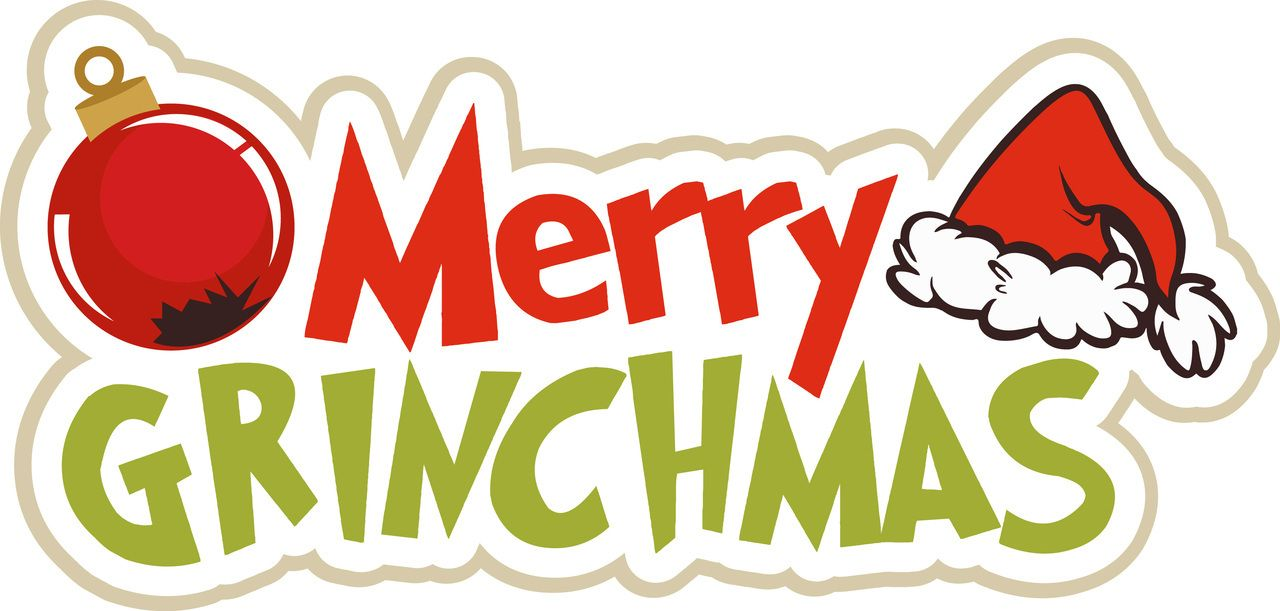 graphic library Pin by nina perozzo. Merry clipart grinchmas.