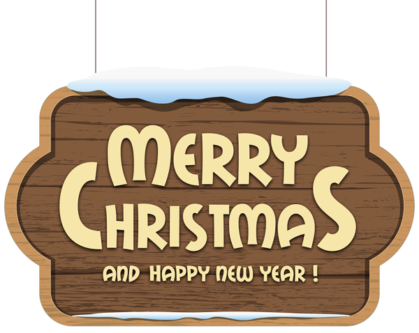 clip free stock Christmas wooden sign png. Merry clipart rustic.