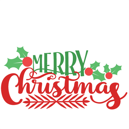 svg royalty free Christmas transparent png free. Merry clipart rustic.