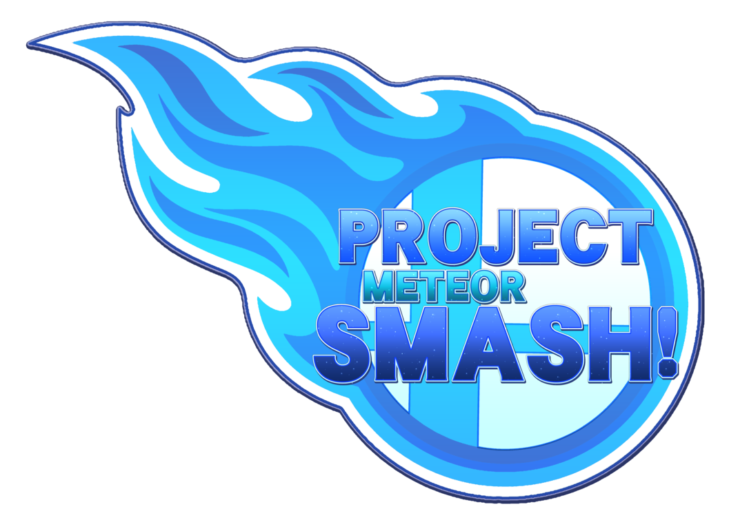 banner library Project smash logo by. Meteor clipart blue.