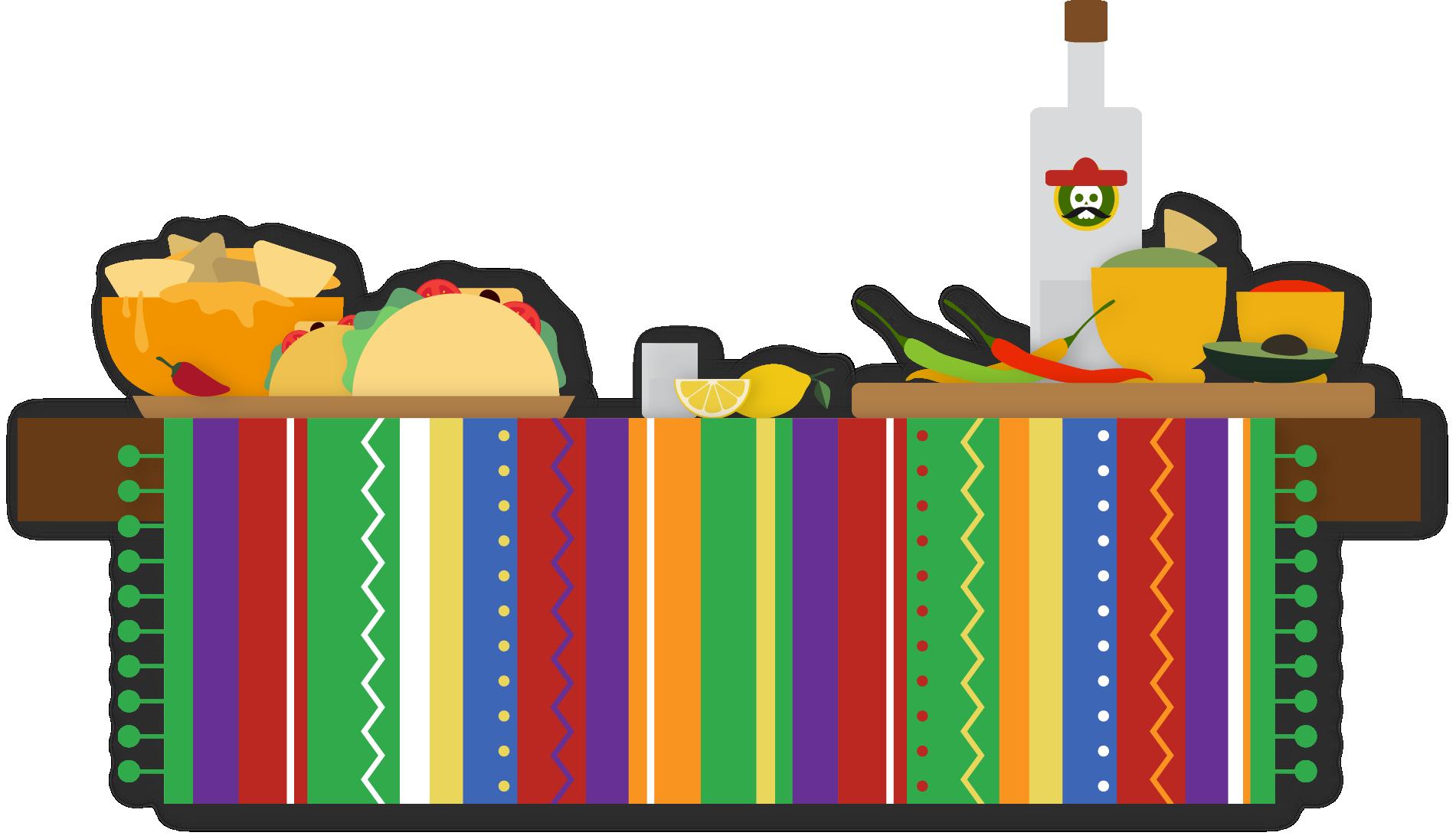 vector stock Margarita cuisine wedding taco. Mexican clipart invitation.