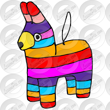svg freeuse download Mexican clipart ornament. Pinata picture christmas ornaments.