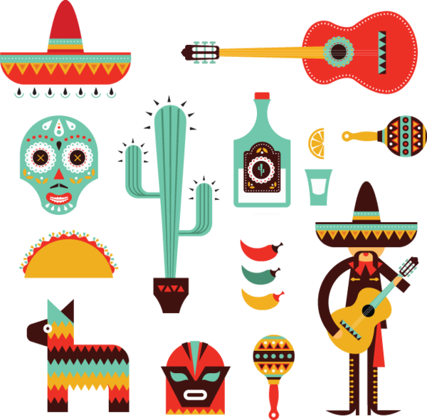 svg free mexican vector christmas #114489738