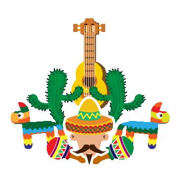 vector transparent Fiesta png vectors psd. Mexican vector christmas