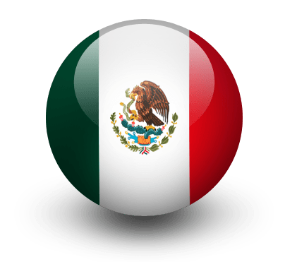 clip freeuse stock Mexican transparent background. Mexico flag icon png