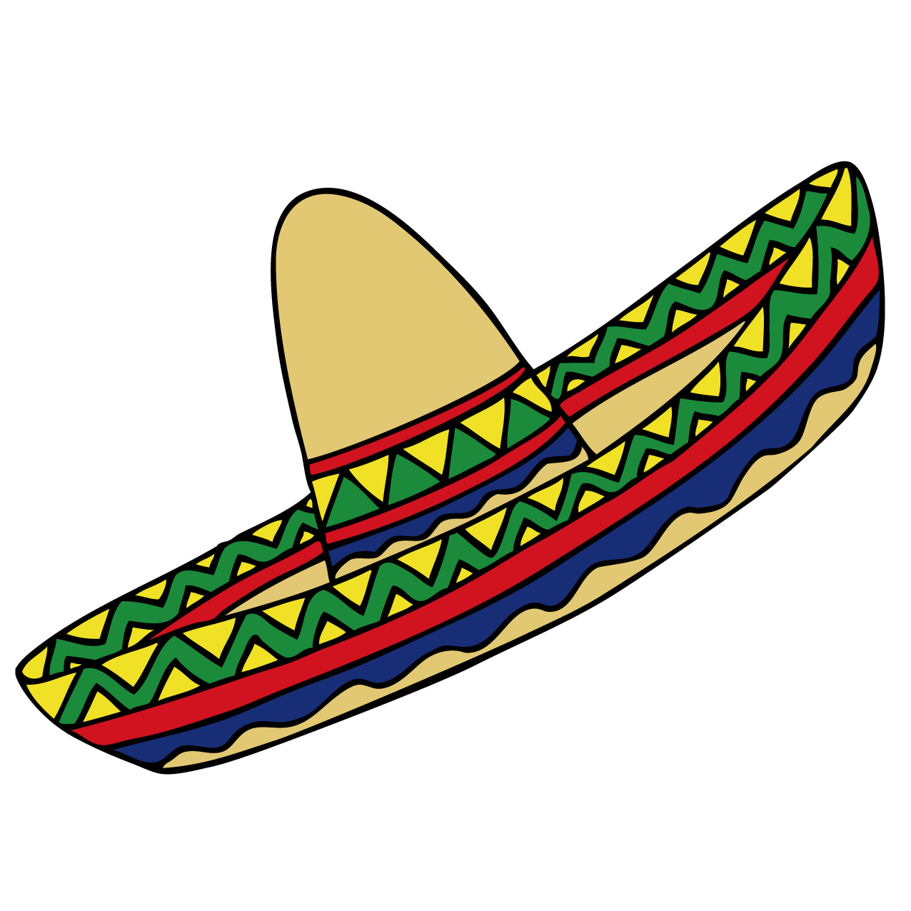 png library Mexican Hat Clipart at GetDrawings