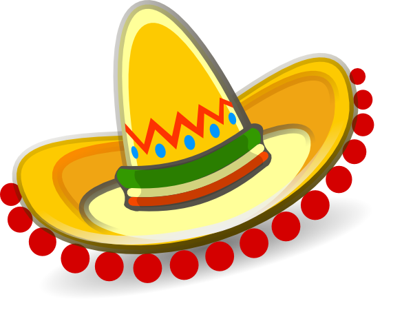 freeuse Sombrero Mexican Hat clip art