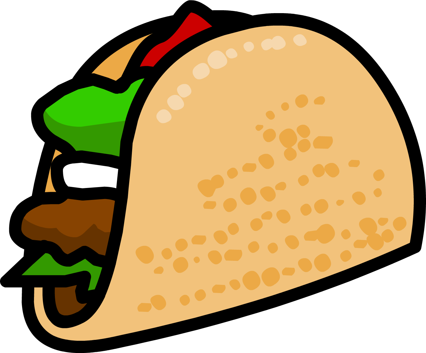 graphic royalty free Free Taco Clipart Pictures