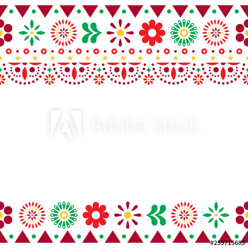 image free stock Mexican vector. Greeting card on invitaitons