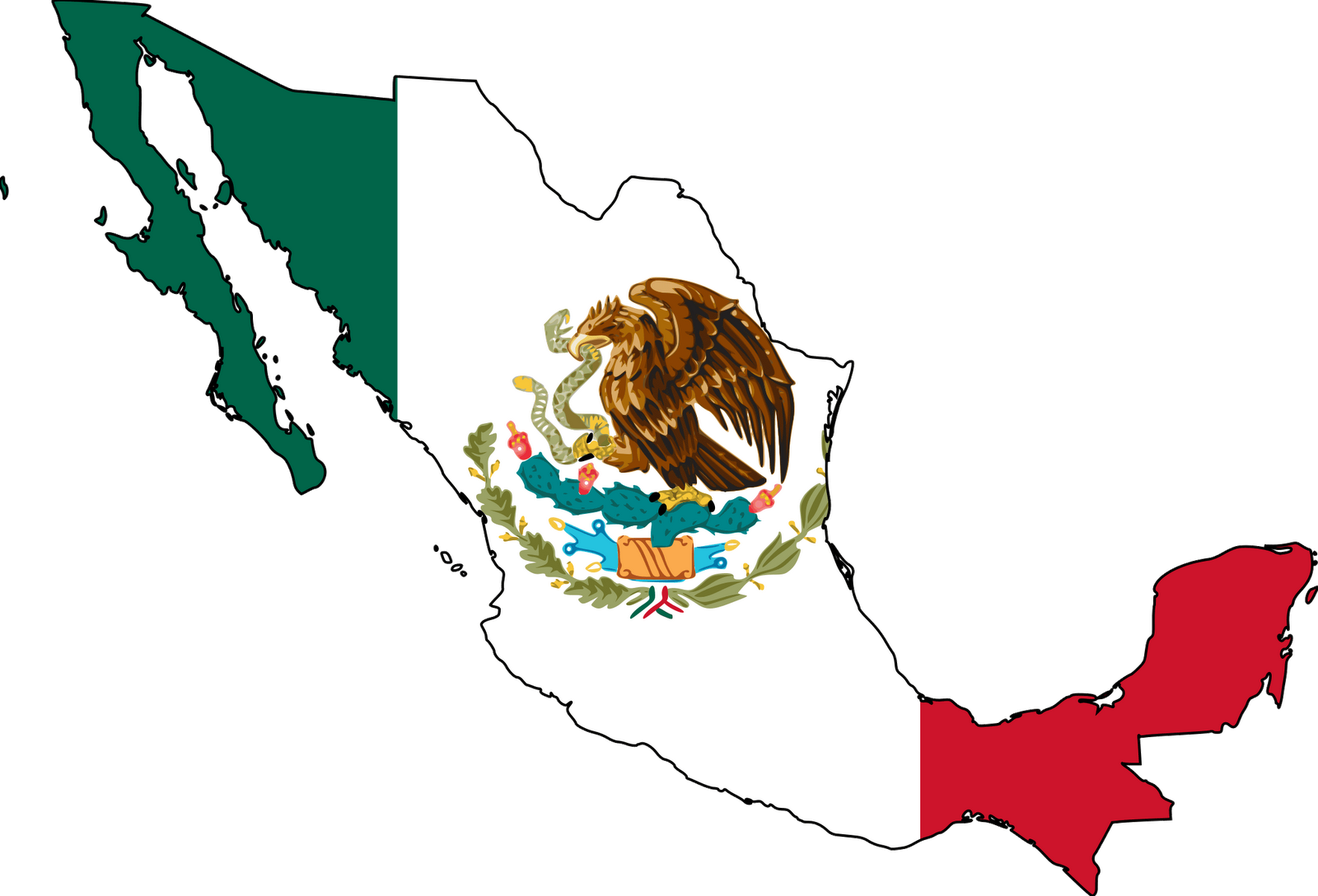 clipart Country of . Mexico clipart