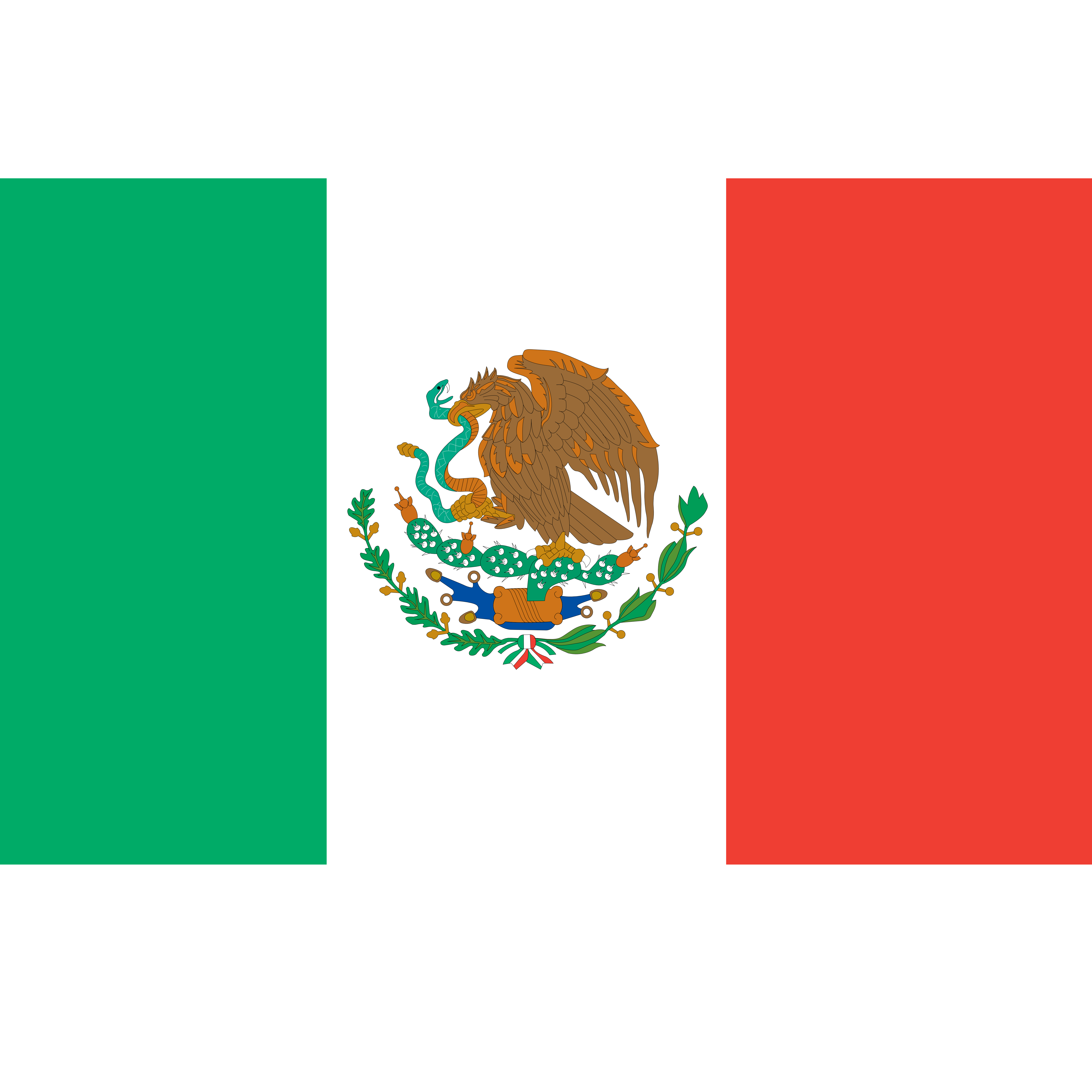 svg freeuse Mexico clipart. Incredible mexican flag of.