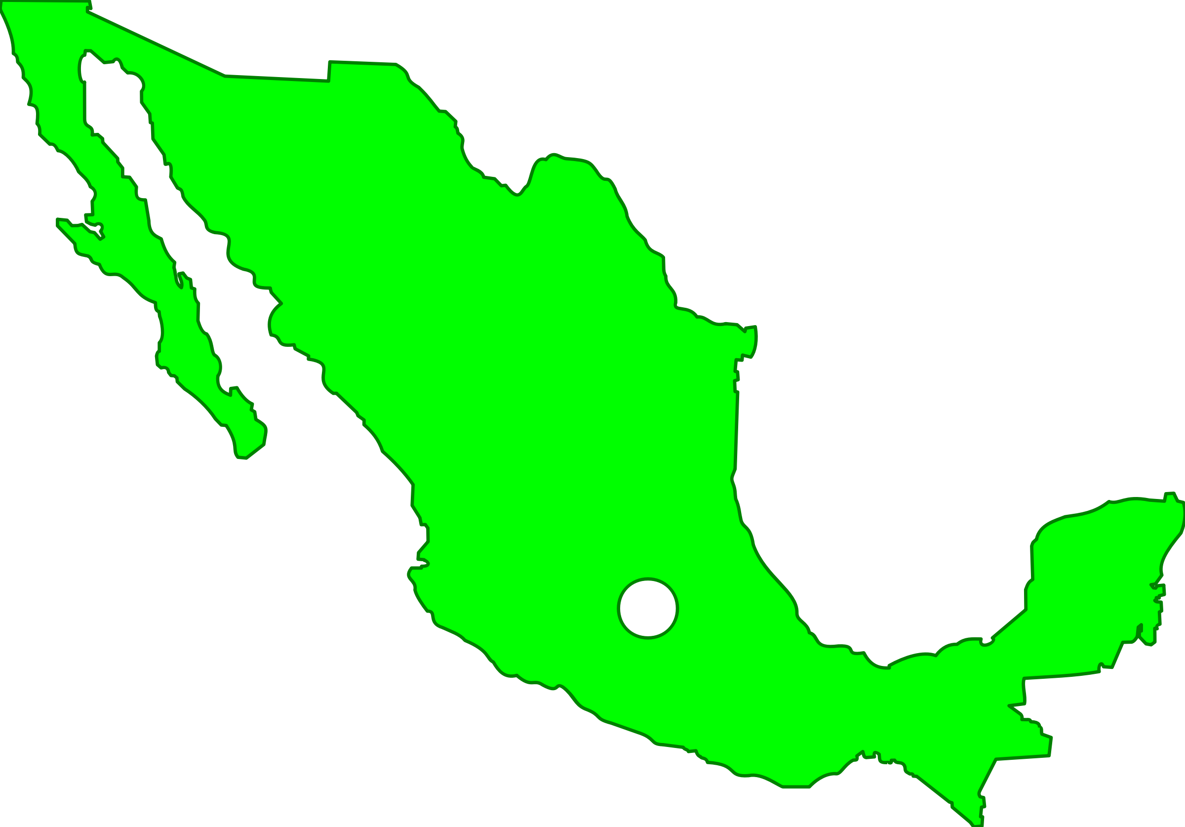 clip free library Mexico Map Icons PNG