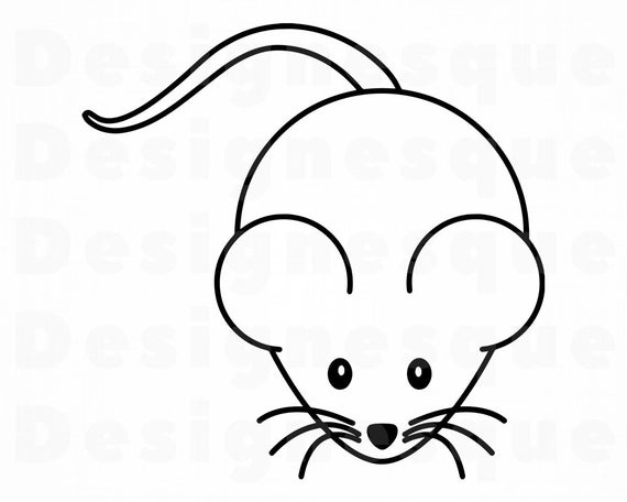 image library stock Mouse svg files for. Mice clipart