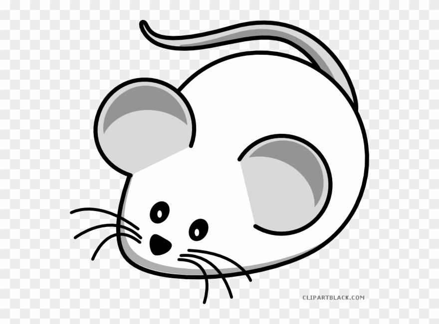 banner free stock Mice clipart. Black and white mouse.