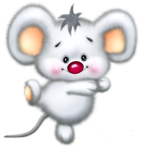 clip black and white download Christmas Mouse Clip Art