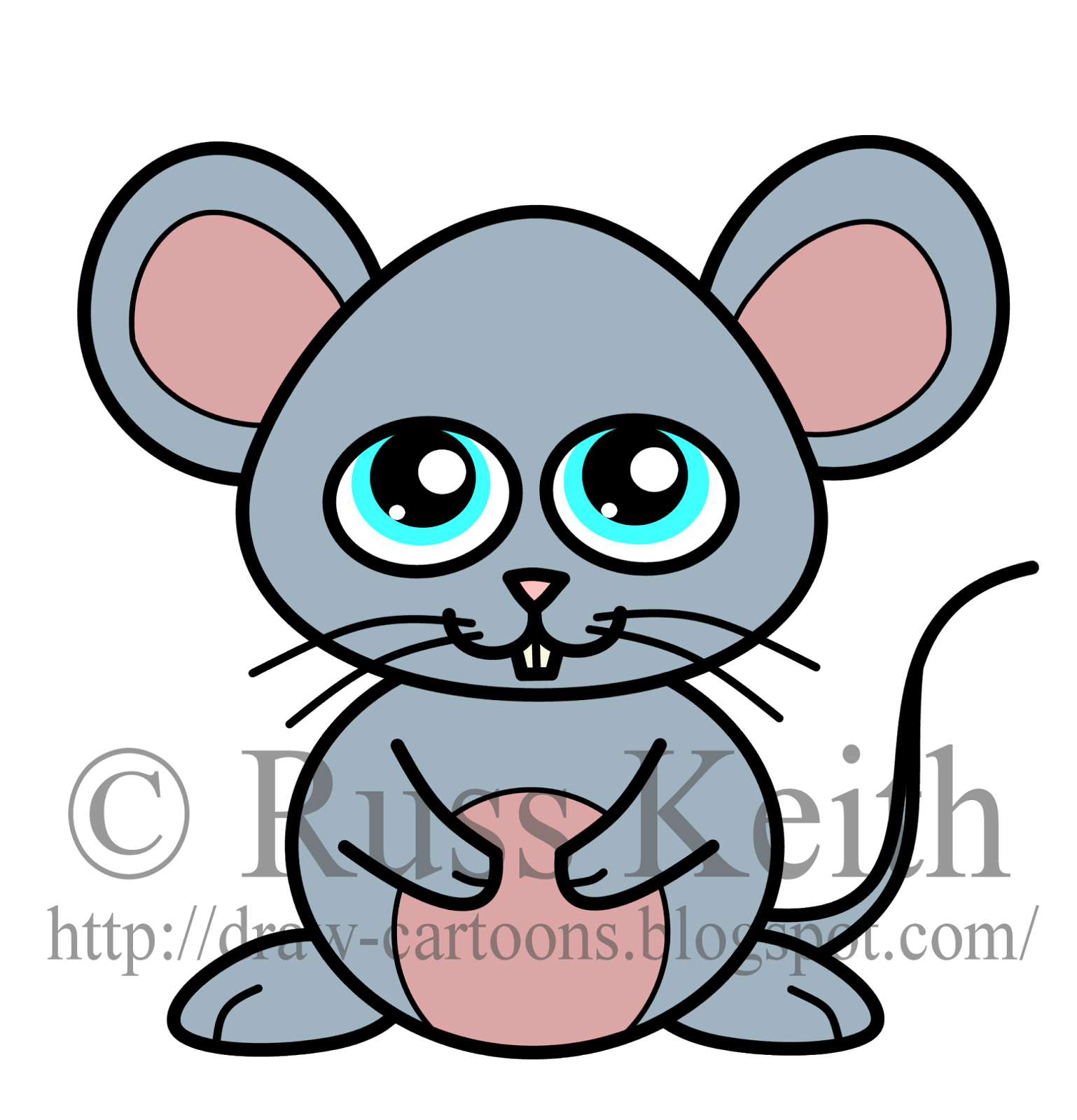 clip art black and white Cartoon drawing at getdrawings. Mice clipart easy.