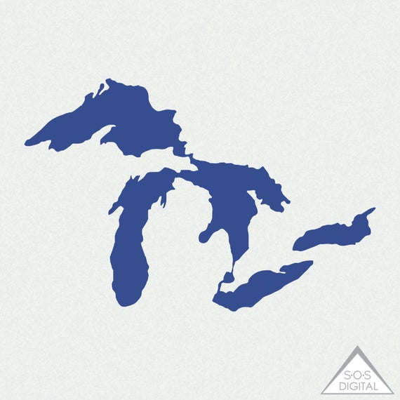 png freeuse Michigan clipart. Great lakes png state.